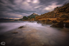Castellabate (cekuphoto) Tags: cilento italia italy sanmarcodicastellabate scogliodelcoccodrillo bluehour longexposure seastorm sunset waves nikon d750