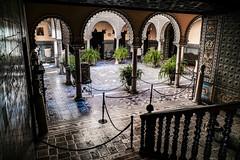 Palacio de la condesa de Lebrija sevilla (ameliapardo) Tags: palacio patio columnas edificios arquitectura sevilla fujixt2