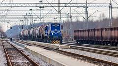 HZ 2063 014, Turopolje (josip_petrlic) Tags: hž hrvatske željeznice croatian railways railway railroad emd gm gt26cw2 diesel locomotive lokomotiva lokomotive eisenbahn dellok ferrovia locomotora teretni vlak freight train hz 2063