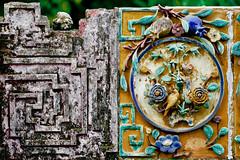 Pagoda Wall | Saigon Vietnam (Paul Tocatlian | Happy Planet) Tags: wall pagoda buddhisttemple buddhist saigon hochiminhcity vietnam asiafavorites happyplanet temple