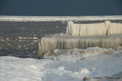 January 2019 (Bekki Y. Photography) Tags: lakemichigan ice winter frozen snow greatlakes chicago beach cold