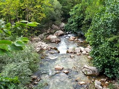 summer scenery (angelinas) Tags: france provence gorgeduloup water waterfall earth rocks nature trees greenery outdoor naturephotography