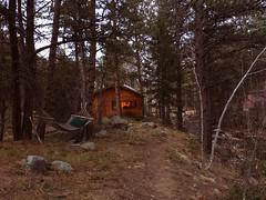 (makawuza) Tags: cabin colorado boulder woods nature hammock