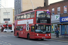 AL VLA141 @ Hainault Street, Ilford (ianjpoole) Tags: arriva london volvo b7tl alexander alx400 lj05gsu vla141 working route 128 romford train station claybury broadway