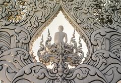 Wat Rong Khun (White Temple) (davehyper) Tags: canona1 35mmssclens filmphotography davehyper analoguephotography thailand 2019 plustekopticfilm120scanner kodak kodakproimage100 watrongkhun whitetemple chiangraiprovince