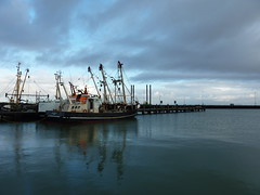 Römö - Römö DK - Hafen (achatphoenix) Tags: rømø römö danish island waddensea dänemark danmark denmark dk port harbour hafen syltfähre boot boat