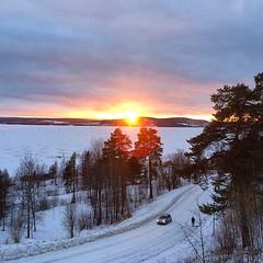#Dagensfoto #utsikt över #Volgsjön #Vilhelmina. ❄️ (svenskvagguide) Tags: dagensfoto utsikt volgsjön vilhelmina