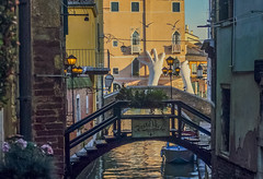 Venice (y.mihov, Big Thanks for more than a million views) Tags: venezia venice bridge trespass travel tourist town sonyalpha sightseeing sea buildings architecture hands europe water canal italy city light