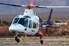 Mercy Air A109 N238AM @ Pahrump (Heliexperte) Tags: helicopter hubschrauber aviation air las vegas agusta rescue hems medical ems