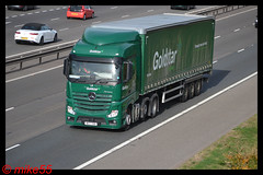 Mercedes Benz Actros MP4 'Goldstar Heathrow' reg WX17 YDH (erfmike51) Tags: mercedesbenzactrosmp4 truck artic curtainside euro6 lorry goldstarheathrow