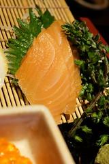 大漁盛り サーモン (HAMACHI!) Tags: tokyo 2018 japan ueno oysterbar diningrestaurant izakaya 佐渡島へ渡れ上野店 大漁盛り