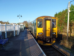 150202 Gunnislake (2) (Marky7890) Tags: gwr 150202 class150 sprinter 2p87 gunnislake railway cornwall tamarvalleyline train