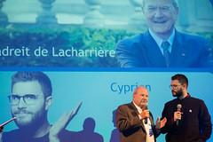 Marc Ladreit de Lacharrière et Cyprien