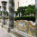 Naples : Cloître de Santa Chiara