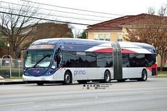 956 103 (2) PRIMO-Madla (transit addict 327) Tags: viametropolitantransit bus nikon d5300 55300mmlens 2019 northamericanbusindustries nabi 60brt brt busrapidtransit primo articulated