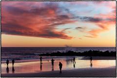 Winter Sunset at Venice Beach. (drpeterrath) Tags: sunset sunrise color sun sky cloud venice beach losangeles reflection bird rock ocean water pacific calilife