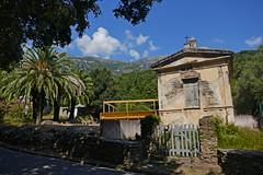 Pietracorbara (SyndromeDeStendhal) Tags: corse corsica capcorse hautecorse france tombeau palmier palmtree