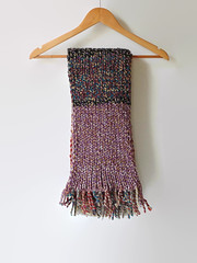 Marl Rainbow Wool Scarf (brandacrafts) Tags: scarf knits branda wrap marl wool scrap