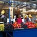 Fruit seller in Monastiraki Square, Athens