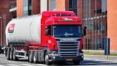 AG68777 (13.06.20)_Balancer (Lav Ulv) Tags: 140664 frodelaursen scania rseries pgrseries scaniarseries r440 highline r6 euro5 e5 6x2 red tanker tankvogn tankwagen tanktruck randersvej nørrebrogade driverobelix 2013 truck truckphoto truckspotter traffic trafik verkehr cabover street road strasse vej commercialvehicles erhvervskøretøjer danmark denmark dänemark danishhauliers danskefirmaer danskevognmænd vehicle køretøj aarhus lkw lastbil lastvogn camion vehicule coe danemark danimarca lorry autocarra danoise vrachtwagen trækker hauler zugmaschine tractorunit tractor artic articulated semi sattelzug auflieger trailer sattelschlepper vogntog oplegger sættevogn nordreringgade
