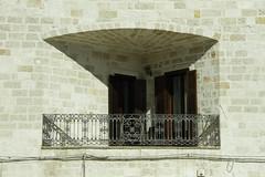 Puglia 2016-58 (walter5390) Tags: puglia apulia italia italy south sud meridione meridionale polignano mare balcony balcone terrazza terrace view vista bricks angle angolo angolata architettura architecture