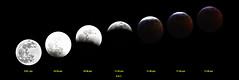 Total Lunar Eclipse (Blood Moon) (Steve InMichigan) Tags: moon moonphase totallunareclipse bloodmoon lunar canoneosrebelt5i asanuma400mmf63tokinalens fotodioxm42eflensadapter michigan easternstandardtime