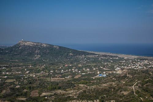 Filerimos view towards the airport