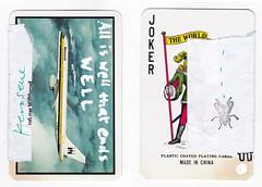 Card for Frips (dou_ble_you) Tags: mailart doubleyou kerosene playingcard
