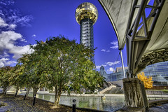 Under the Amphitheater, 2018.11.06 (Aaron Glenn Campbell) Tags: worldsfairpark sunsphere tennesseeamphitheater structure buildings architecture downtown knoxville tennessee tn 3xp hdr â±3ev gritty textures macphun skylum aurorahdr nikcollection colorefexpro viveza sony a6000 ilce6000 mirrorless rokinon 12mmf2ncscs wideangle primelens manualfocus emount ±3ev