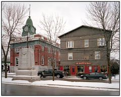 2016 - Kodak Portra 400 - Danville, Quebec (kurttarvis) Tags: mediumformat 120 film kodak portra fuji ga645 ga645wi architecture canada quebec danville winter snow