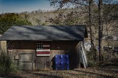 "Patriotic pallete (hutchphotography2020) Tags: farm nc flag patriotic flat pallete nikon ""nikonflickraward"""