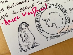 A postcard from Antarctica—thank you, @ArielWaldman!