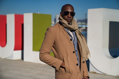 Dapper Man in Seoul Part 20 (Dapper Man) Tags: dapper dapperman gentleman gq seoul korea southkorea iseoulu metropolitan city streetstyle fashion winterfashion model koreafashion trenchcoat scarf cardigan turtleneck sweater trousers pants plaid loafers horsebitloafers horsebit gucciloafers shades hm seoullife bald baldgang baldhead