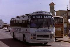 WHITESTAR, NEILSTON MDS234V (bobbyblack51) Tags: whitestar neilston mds234v volvo b5861 plaxton supreme parks of hamilton ayr 1996