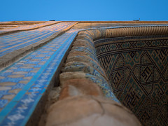 Looking up (802701) Tags: 2017 201709 43 asia centralasia em5 mft micro43 ozbekistonrespublikasi omd omdem5 olympus olympusomdem5 registan republicofuzbekistan samarkand samarqand sandyplace september september2017 sherdormadrasah silkroad theregistan tilyakorimadrasah timuriddynasty ulughbeg ulughbegmadrasah uzbekistan architecture buildings cities city cityscape fourthirds madrasah madrasahs madrassa microfourthirds mirrorless photography town travel travelling самарқанд ریگستان سمرقند طلاکاری‎ مدرسهالغبیگ