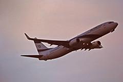 Berlin SXF 6.2.2019 Boeing 737-900 ELAL (rieblinga) Tags: berlin sxf schönefeld start boeing 737900 elal 622019 analog canon eos 3 sigma 150600 c agfa ct precisa 100 e6 diafilm
