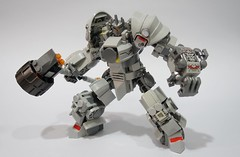 Reinhardt02 (chubbybots) Tags: lego overwatch reinhardt mod 75973