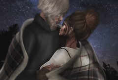 140119 (. A м ч Я σ ѕ ε .) Tags: couple love secondlife avatar girl red hair cuddle night romance