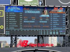 Citi Field, 09/30/18 (NYM v MIA): it's 3.10pm - let's play ball! (IMG_4450a) (Gary Dunaier) Tags: ballparks baseball stadiums stadia mets newyorkmets flushing queens newyorkcity queenscounty queensboro queensborough citifield