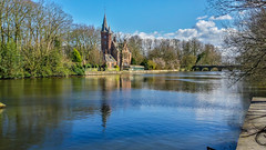 Minnewater (mwdent91) Tags: bruges belgium minnewater lakeoflove