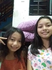 Ashley and I (ghostgirl_Annver) Tags: asia asian girls annver ashley teen teens sisters siblings daughters family children kids portrait