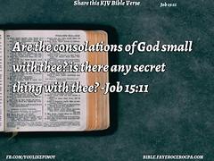 Job 15:11 (jhungalang) Tags: job 1511