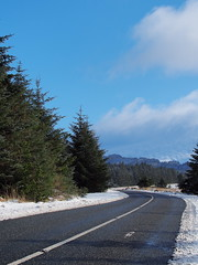 Open Road (kckelleher11) Tags: olympus omd em5 mzuiko 40150mm f28 road open snow february 2019 workflow