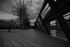 Race Street Pier Before the Rain (bobglennan) Tags: nikond750 nikon nikkor night philadelphia pennsylvania pier noir monochrome philadelphiaphotographer beyondtheview findingtheshot timing racestreetpier cloudy vanishingpoint lines