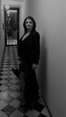 DSC02390 (2) (kriD1973) Tags: europa europe italia italy italien italie lombardia lombardei lombardie milano milan mailand brera beautiful beauty bella belle bellezza carina charmante charming chica cute donna femme fille frau girl goodlooking gorgeous guapa gutaussehend hübsch jolie lady leute mädchen mignonne mujer people persone personnes ragazza schön schönheit tunesierin tunisian tunisienne tunisina woman black white brunette