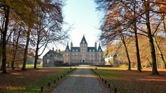 Kasteel Renswoude - Castle Renswoude  frontside. (Cajaflez) Tags: kasteelrenswoude voorkant herfst herbst autumn autun castle trees bomen herfsttooi