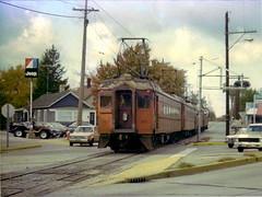 South Shore Michigan City 10-28-78 (jsmatlak) Tags: chicago south shore bend indiana line interurban electric railway train nictd