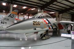 Grumman F-14A Tomcat n° 46  ~ Bu158985 / 200 (Aero.passion DBC-1) Tags: yanks air museum chino ca collection dbc1 david biscove aeropassion avion aircraft aviation plane usa airmuseum muséedelair grumman f14 tomcat ~ 158985