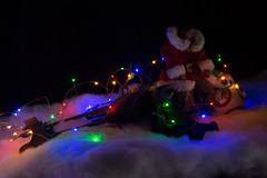 Merry Sithmas (katsuboy) Tags: starwars disney merrychristmas christmas kyloren sith rey jedi speeder speederbike bb8 droid santarey hottoys