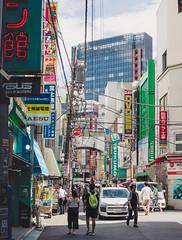Akihabara Backstreets (Adam Hinett) Tags: microfourthirds mft 25mm olympus streetphotography asia street city electrictown akihabara japan tokyo